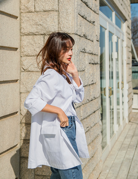 Collaves Linen Top Jacket 42663