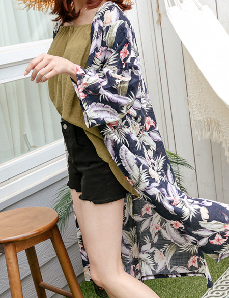 Jude Summer Flower Long Robe 44365