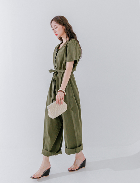Budget string jump suit 44748