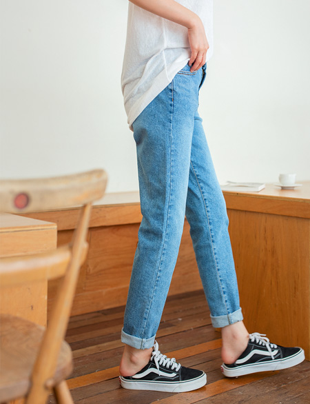 Knetta Denim Semi Baggy Pants 45062