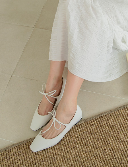 Loving Mour bowknot Flat shoes 91251
