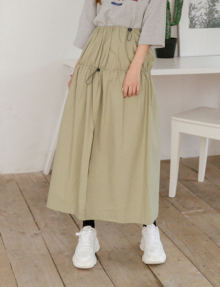 Mildy string trim Rong skirt 45237