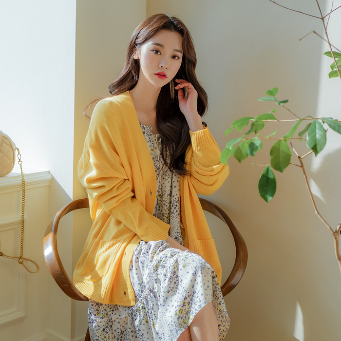 [Replay] [Wear Kim Min Kyung] Cocory loose fit Cardigan 47670