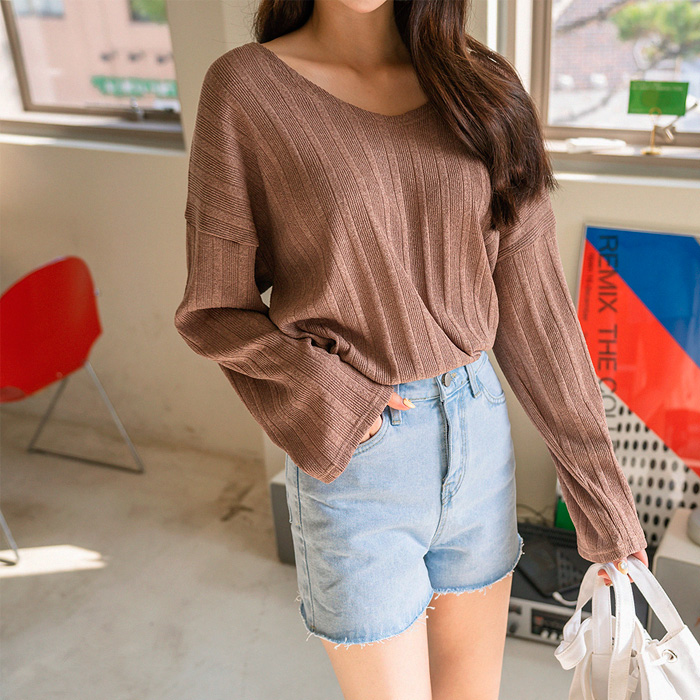 Selby loose fit Knit T-shirt 48543