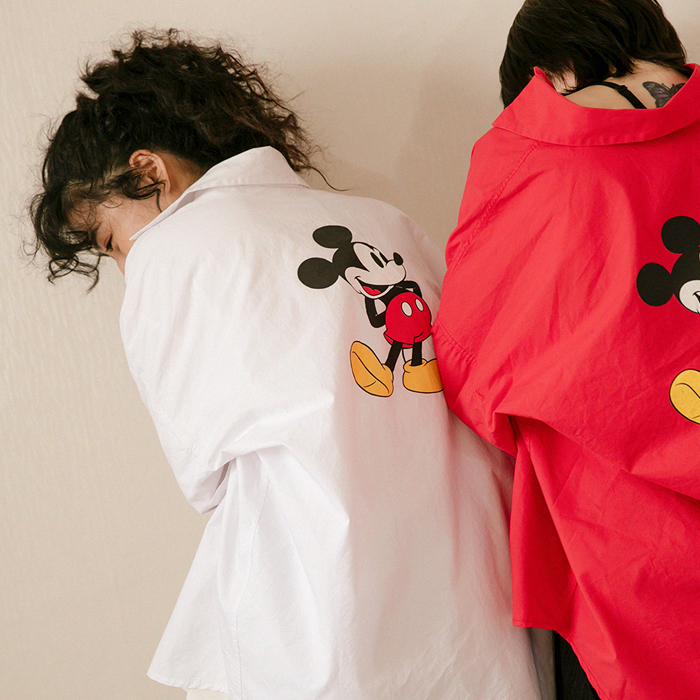 [Disney Genuine] Riseny Mickey Shirt 49400