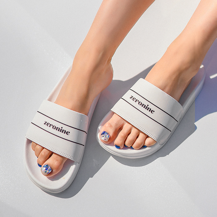 [1+1 additional discount] You and Me Summer Wide Slippers 49485