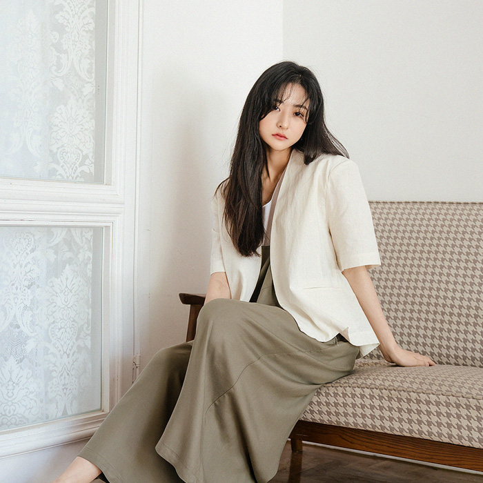 The Anne Linen Short Jacket 49805