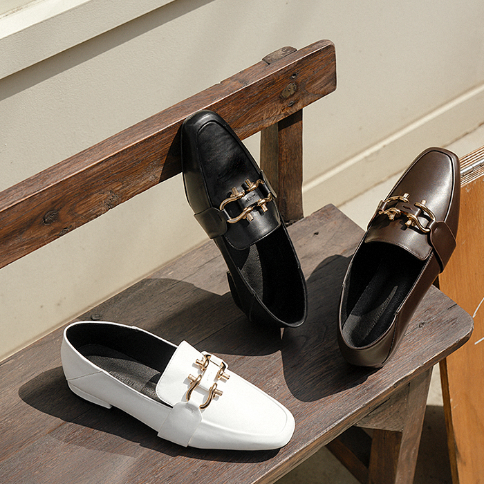 Dodo Wide two-way Loafers 51101
