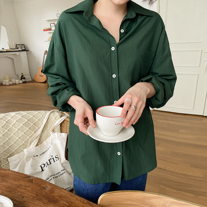 Porter loose fit daily Shirt 61334