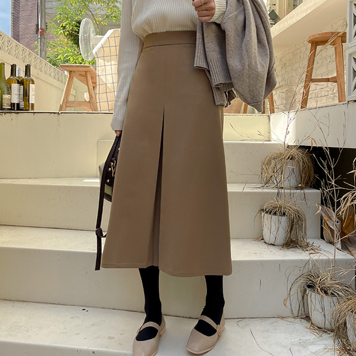 New Inz Long Skirt with Back Banding 61689